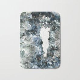 Crystal Photography | Sapphire | Gem | Stone | Geometry Bath Mat