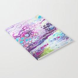 Vibrant Pinks & Blue & Purple Notebook