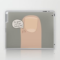 Hang Nail Laptop & iPad Skin