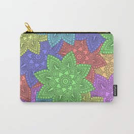 Overlapping Mandalas Carry-All Pouch