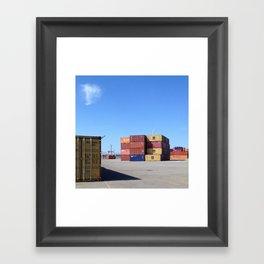 piazza Framed Art Print