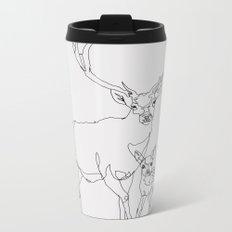 Bambi & Stag Metal Travel Mug