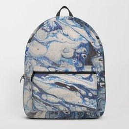 Bleached Denim  Backpack