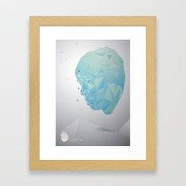 Shun–Challenge yourself Framed Art Print