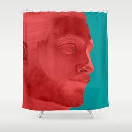 Lumbersexual Shower Curtain