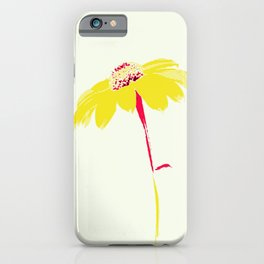 Blossoming flower painting iPhone Case