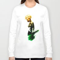 storm Long Sleeve T-shirts featuring Storm by Luke