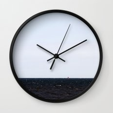 Distant Lighthouse Wall Clock