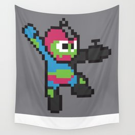 Jaw-man Wall Tapestry