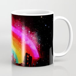The Flaming Lips Space Rainbow Coffee Mug