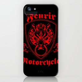 Fenrir Motorcycles iPhone Case