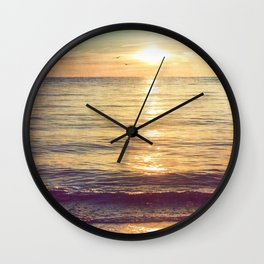 I Give In Wall Clock