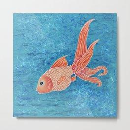 Goldfish 2 Metal Print