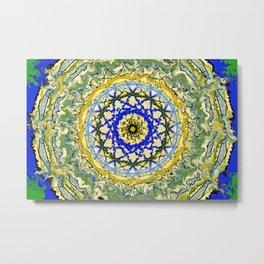 Mandala No.1 Metal Print