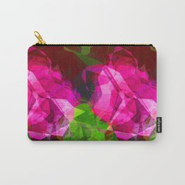 Rosas Moradas 1 Abstract Polygons 1 Carry-All Pouch