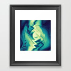 Dip In The Water Framed Art Print
