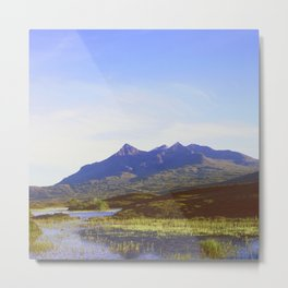 The Cuillin Hills Metal Print