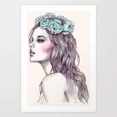 Les fleurs du mal Art Print