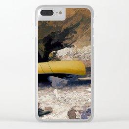 """""""Canoe Beach"""" Clear iPhone Case"""