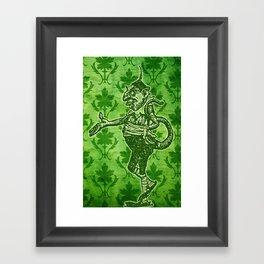 Green Goblin Framed Art Print