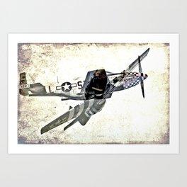 Mustang - The Original Art Print