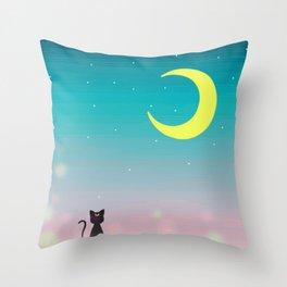 Sailor Night Throw Pillow