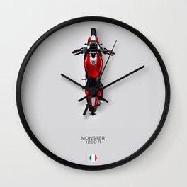 Monster 1200 R Wall Clock