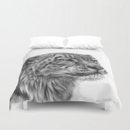 Snow Leopard G095 Duvet Cover