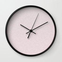 Muted pink Wall Clock