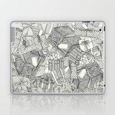 pencil parcels ivory Laptop & iPad Skin