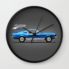 The Shelby Mustang GT500 Wall Clock