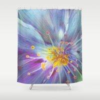 blossom Shower Curtains featuring Blossom by Klara Acel