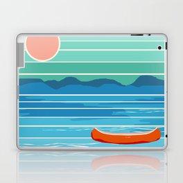 Minnesota travel poster retro vibes 1970's style throwback retro art state usa prints Laptop & iPad Skin