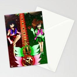 Fusion Sailor Moon Guitar #26 - Sailor Mars & Sailor Jupiter Stationery Cards