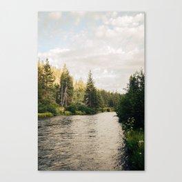 Rvier Canvas Print