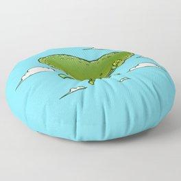 The Super Pickle Floor Pillow