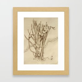 Narcissus and Echo  Framed Art Print