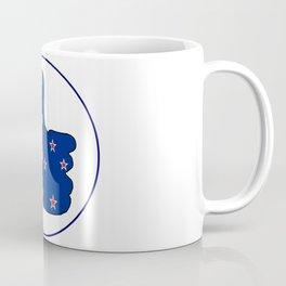 Thumbs Up New Zealand Coffee Mug