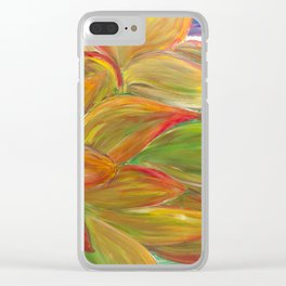 Sunshine, So Divine Clear iPhone Case