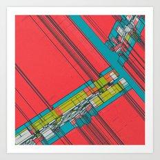 MADISON SQUARE GARDEN (10.02.15) Art Print