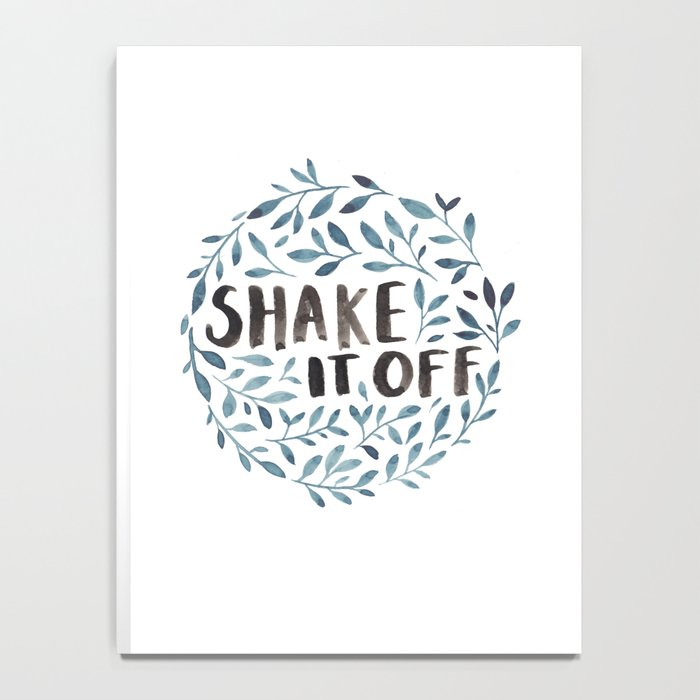 Shake It Off Notebook