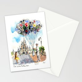 Belle and the Balloon Man Stationery Cards