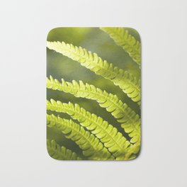 part of the broad fern leaf Bath Mat