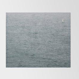 Lost Sailor Throw Blanket