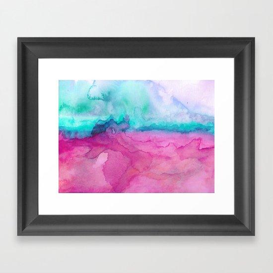 Tidal II Framed Art Print