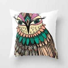 A Lovely Owl Throw Pillow