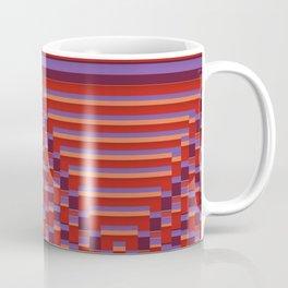 Patchwork Colours  - reds Coffee Mug