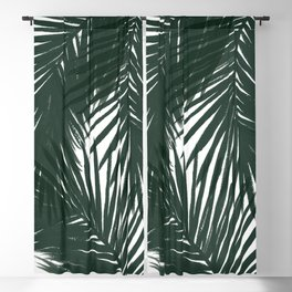 Palms Green Blackout Curtain