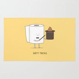 Dirty tricks Rug