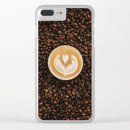 coffee #society6 #decor #buyart Clear iPhone Case